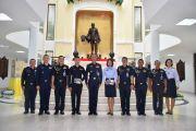 พิธีประดับยศข้าราชการ วิทยาลัยการทัพอากาศ กรมยุทธศึกษาทหารอากาศ