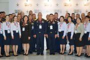 ผู้บัญชาการวิทยาลัยการทัพอากาศ กรมยุทธศึกษาทหารอากาศ และคณะเข้าร่วมชมงาน Defense and Security 2019