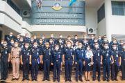 ผู้บัญชาการวิทยาลัยการทัพอากาศ กรมยุทธศึกษาทหารอากาศ นำนักศึกษาวิทยาลัยการทัพอากาศ ศึกษาดูงาน ณ ศูนย์ไซเบอร์กองทัพอากาศ และศูนย์ปฏิบัติการทางอวกาศกองทัพอากาศ
