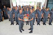 มอบกระเช้าของขวัญอวยพรเนื่องในวันคล้ายวันเกิด  ผู้บัญชาการวิทยาลัยการทัพอากาศ กรมยุทธศึกษาทหารอากาศ