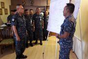 เจ้ากรมยุทธศึกษาทหารอากาศ ตรวจเยี่ยมการฝึกการบริหารสถานการณ์วิกฤติในระดับยุทธศาสตร์