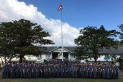 ผู้บัญชาการวิทยาลัยการทัพอากาศ นำข้าราชการ ลูกจ้าง พนักงานราชการและนักศึกษาวิทยาลัยการทัพอากาศ ดูงาน กรมทหารอากาศโยธิน รักษาพระองค์ หน่วยบัญชาการอากาศโยธิน